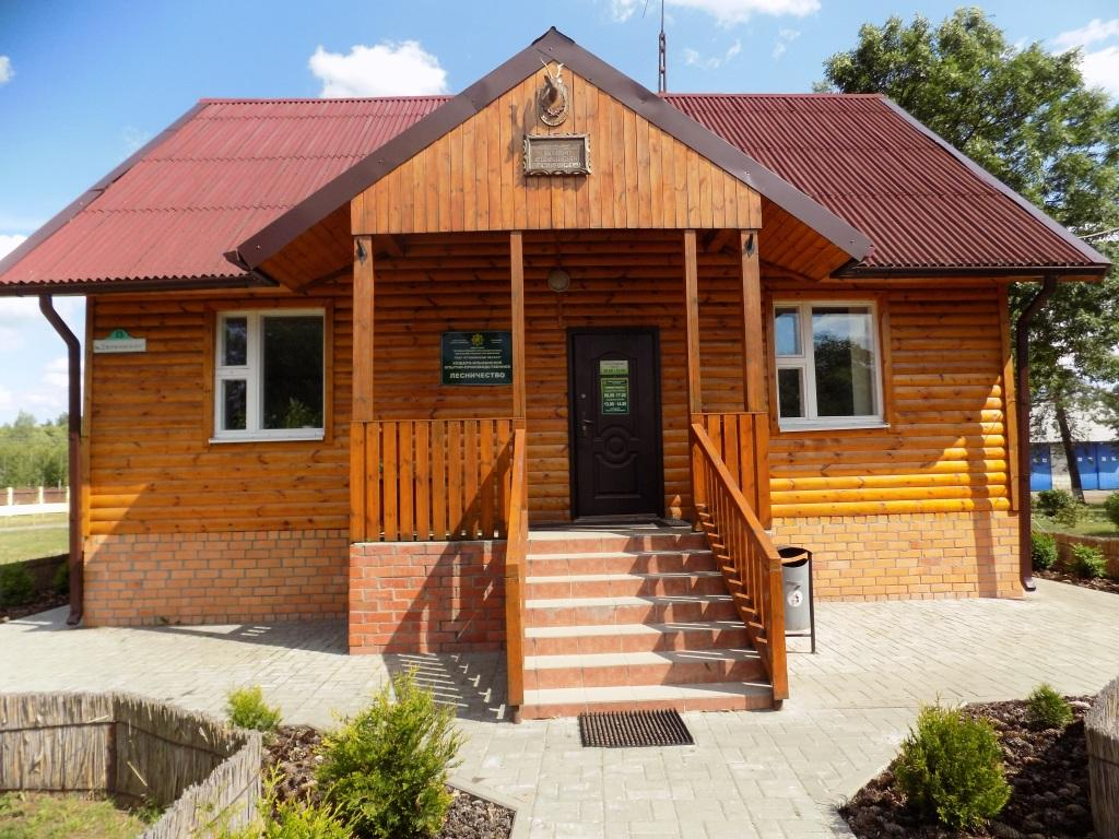 Здание конторы Кошаро_Ольманского лесничества